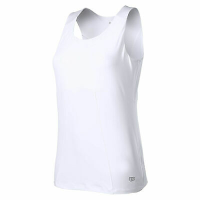 WILSON Womens Cardiff Curve Tank Top Performance WR3120100 New