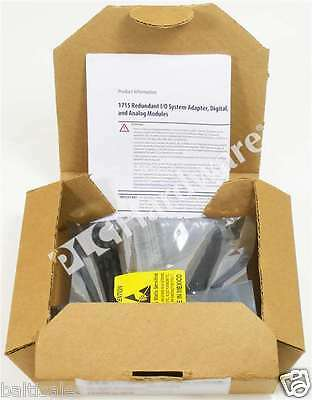 New Allen Bradley 1715-TASIF16 /A Redundant I/O Termination Assembly Simplex