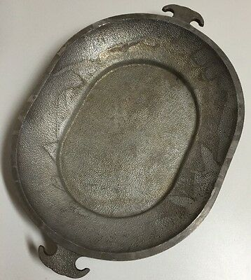 """Vintage Guardian Service Aluminum Oval Cookware Roasting Lid Serving Tray 15"""""""