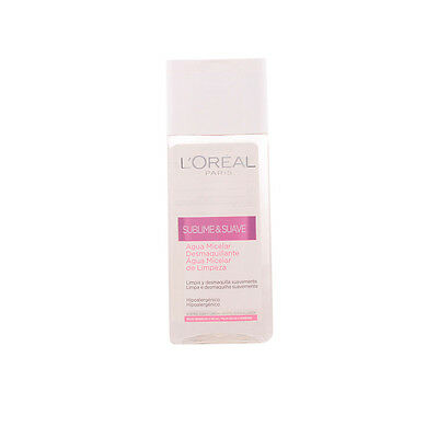 Cosmética L'Oreal Make Up mujer SUBLIME&SUAVE agua micelar PSS 200 ml
