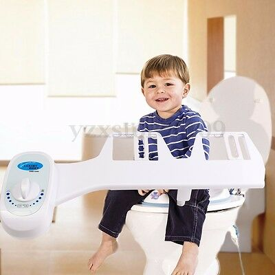 Smart Hygiene Easy Toilet Bidet Seat Sprayer Water Wash Clean Unisex No Electric