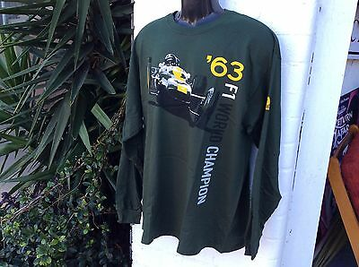 Jim Clark Long Sleeve Official Collector T Shirt Size Xlarge Brand New