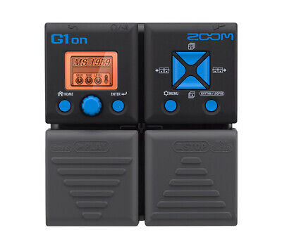 ZOOM G1ON Multi Effects Guitar Pedal w/ 100 digital FX - Australian Stock