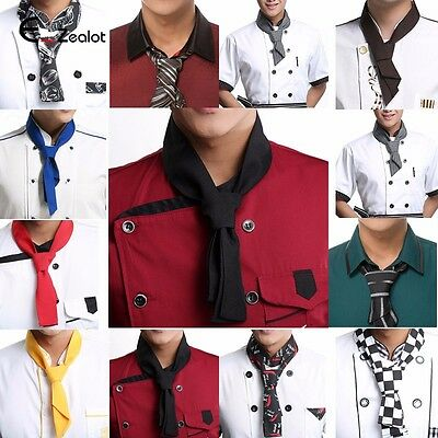 1pc Cooking Chef Scarf Neckerchief Waiter Hotel Restaurant Sweat Towel