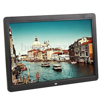 "Cornice Digitale 15.6"" Hd Pollici Usb Foto Video Mp3 Jpg Sd Card Con Telecomando"