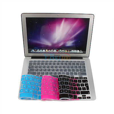 """Protector Cover Universal Silicone Keyboard Skin For Macbook Pro 13"""" 15"""" 17"""" BT"""