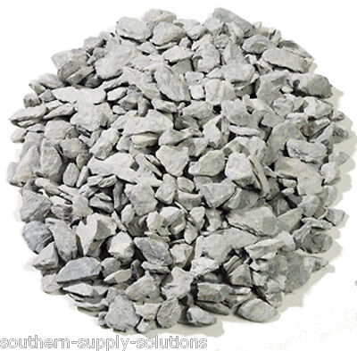 Green Slate 30mm Aggregate Chippings Drive borders landscaping stone bulk or 25k