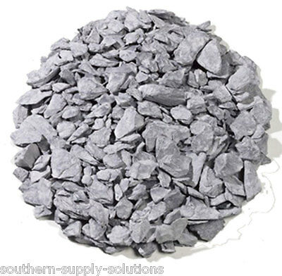 Blue Slate 20-40mm Aggregate Chippings Drive borders landscape stone bulk or 25k