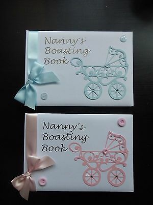 'Ornate pram' Nanny's boasting book ideal new grandparents gift