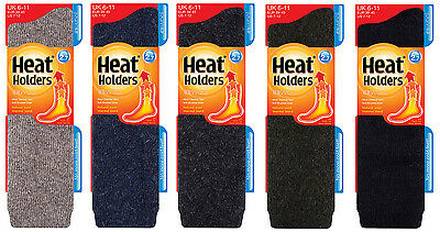 786a711eb Heat Holders - Mens Thick Warm Winter LONG Wool Knee High Thermal Socks