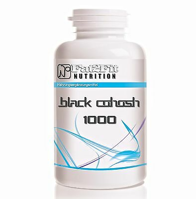 Traubensilberkerze 250 Tabletten je 1000mg / Black Cohosh - Menopause - Frauen