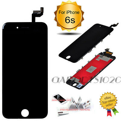 """For iPhone 6S 4.7"""" LCD Screen Assembly Digitizer Touch Replacement Display Black"""