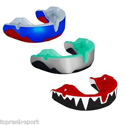 Opro GEN 3 PLATINUM Mouth Guard Gumshield Boxing Rugby MMA Martial Arts