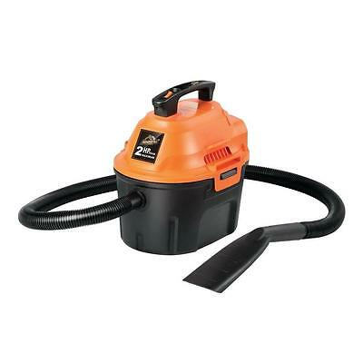 2.5-gal. Portable Wet/Dry Car Vacuum Cleaner with 1.25 in. Hose and Accessories