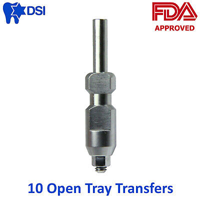 10x Dental Transfer Impression Coping Open Tray Implant Abutments Diameter 4.75
