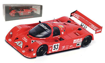 Spark S4438 Porsche 962 GTI #53 12th Le Mans 1992 - Bell/Bell/Needell 1/43 Scale