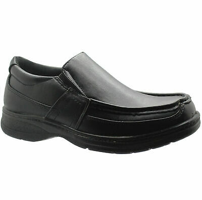 Mens Comfort Xtra Slip On Smart Wedding Shoes Casual Formal  Office Shoes Uk Sz