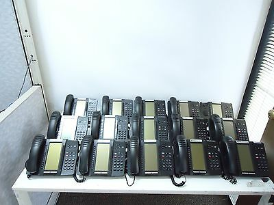 LOT OF 15 Mitel 5320 IP Phone 50006191 Dual Mode VOIP