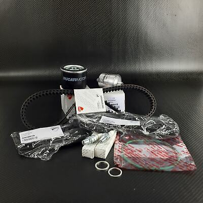 Ducati 748 916 996 SP SPS SERVICE KIT belts oil / air / fuel filter spark plugs
