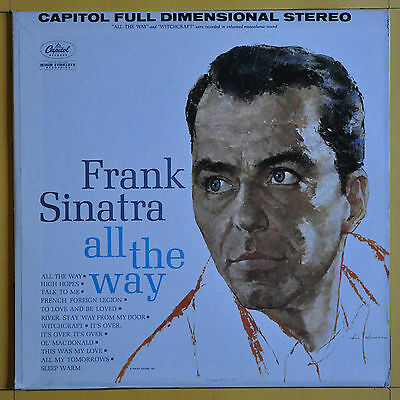 Frank Sinatra  All The Way  Capitol Records SW 1538 USA  1962