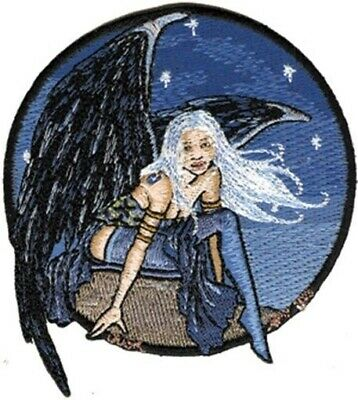 Amy Brown's Dusk Winged Fairy Embroidered Patch, NEW UNUSED