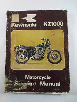 Kawasaki Kz1000 Service Manual Late 1978 1979 1980 99924-1006-03