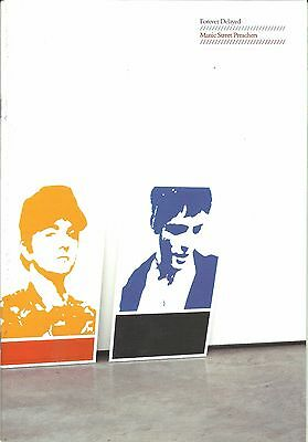 MANIC STREET PREACHERS forever 2002 tour programme 24 pages