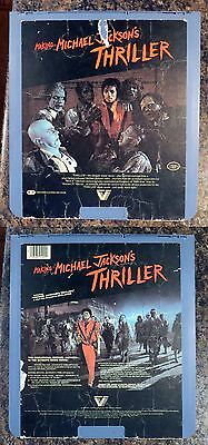 CED VideoDisc: Michael Jackson's The Making of Thriller: Selectavision rare