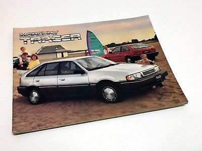 1987 Mercury Tracer Brochure (French)
