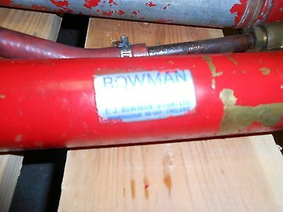 Bowman 3076 DC120YBB Oil Cooler Cupro-Nickle Tubes 3/8 NPT 1-1/8 Ports