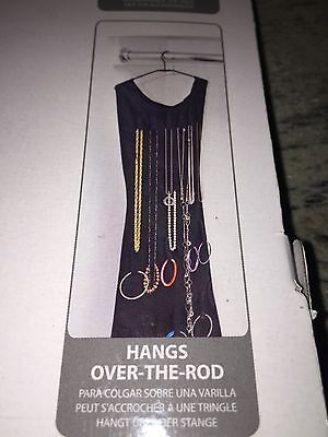 Umbra Little Black Dress Hanging Jewelry Organizer 2 Sided New In