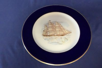 Famous Clipper Ships Fredk Errill Flying Clouds Shenango China Plate Lot#6-0250