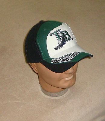 sports shoes 94a64 92c84 Tampa Bay Devil Rays Baseball Hat Adult One Size New MLB Rare Collectible  Cap