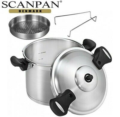 Scanpan Stainless Steel Pressure Cooker 24Cm-8L