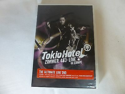 Tokio Hotel 2007 2 disc DVD Zimmer 483 Live in Europe concert tour