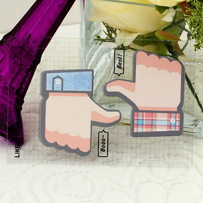 Thumbs up Sticker Post It Bookmark Point Marker Memo Flag Sticky Notes IB
