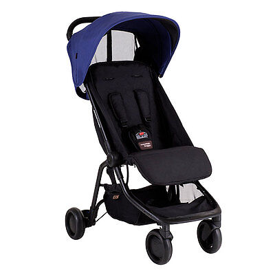 Mountain Buggy Nano V2 Nautical Stroller - NEW