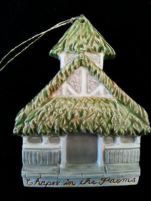 Chapel Christmas Tree Ornament from Coco Palms Hotel Kauai