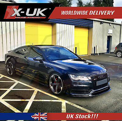 Rs7 Style Front Grill Gloss Black For Audi A7 S7 2011-2015