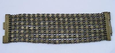 Antique Ottoman Empire Balkan Peninsula Women's Bracelet Silver Alloy