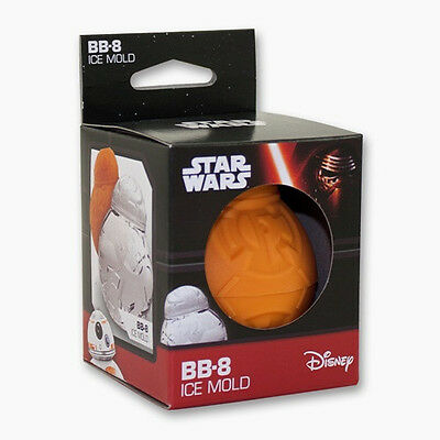 Star Wars BB-8 Frozen Formed Ice Cube Mold, NEW UNUSED SEALED