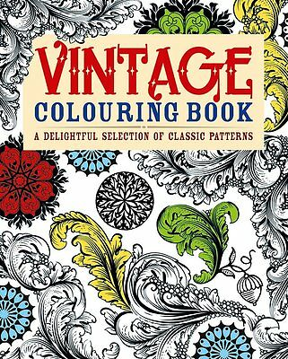 Vintage Colouring Book: A Delightful Selection of Classic Patterns (Adult Colour
