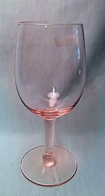Morgantown 6080 Coach House Water/Wine Goblets (8) available Pink circa 1967