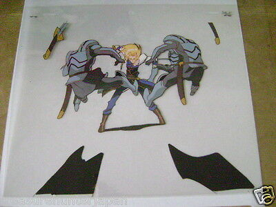 The Vision Of Escaflowne Allen Schezar Anime Production Cel 12