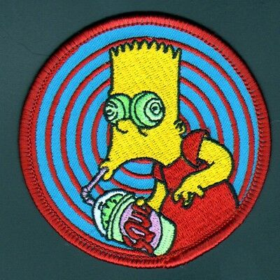 Patch - The Simpsons Bart Squishee embroidered licensed Official