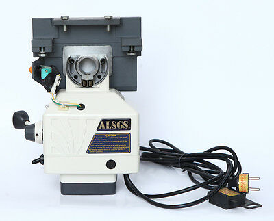 X-axis Power Feed, Table Feed ALB-310SX(110V) for bench machine #PF-XB-new