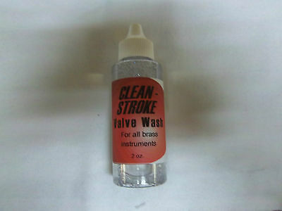 Clean Stroke - Valve Wash For All Brass Instruments