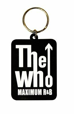 WHO maximum r & b 2011 - shaped RUBBER KEYCHAIN official merchandise