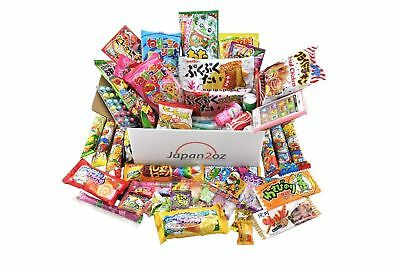 70 PIECE JAPANESE CANDY SET Gummy Ramune Ramen Jelly Chips Chocolate Xmas Gift