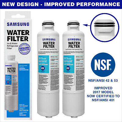 2 x Genuine OEM Samsung DA29-00020B Ice and Water Fridge Filter